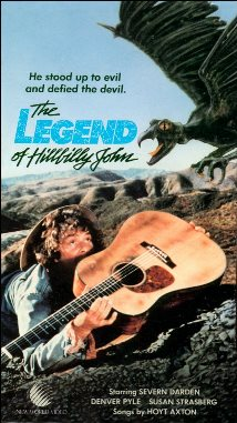 The Legend of Hillbilly John: VHS Cover