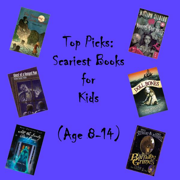 Top 10 Horror Books For Kids Awake At Midnight