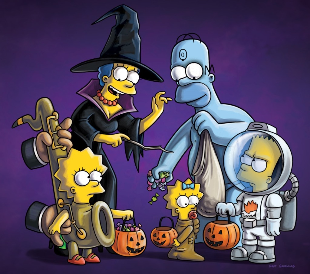 Halloween Simpsons Treehouse Of Horror.The Simpsons Treehouse Of Horror Awake At Midnight