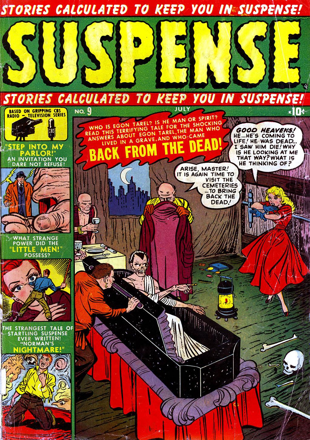 Suspense Comic